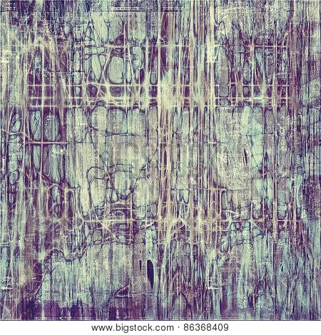 Abstract blank grunge background, old texture with stains and different color patterns: gray; purple (violet); blue