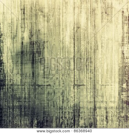 Aged grunge texture. With different color patterns: yellow (beige); gray; black