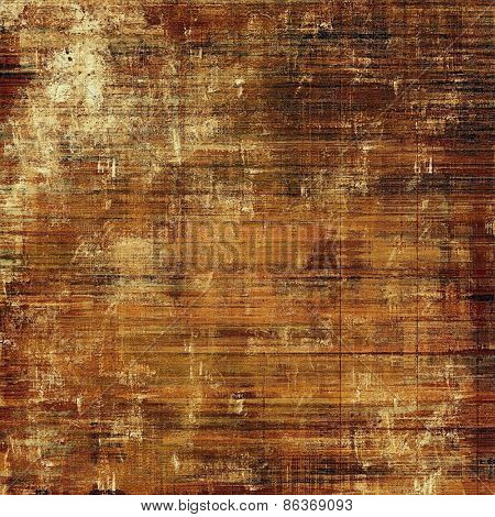 Old abstract grunge background for creative designed textures. With different color patterns: yellow (beige); brown; gray