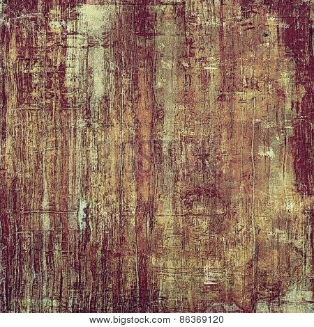 Rough vintage texture. With different color patterns: yellow (beige); brown; gray; purple (violet)