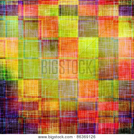 Grunge old texture as abstract background. With different color patterns: green; purple (violet); blue; red (orange)