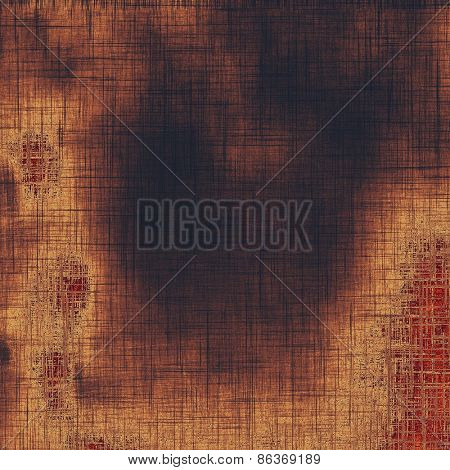 Weathered and distressed grunge background with different color patterns: yellow (beige); brown; purple (violet)