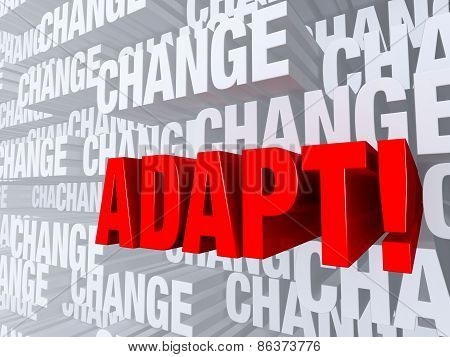 Adapt Against A Background Of Change