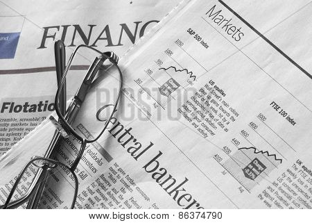 Stock Markets Newspapers