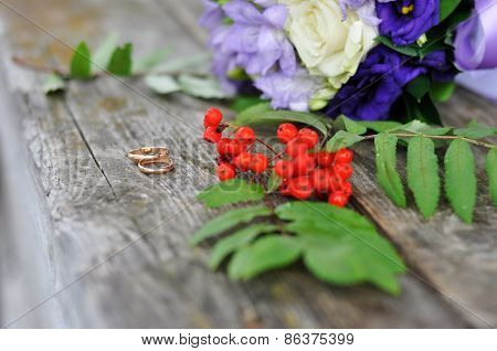 Engagement rings and rowan