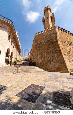 Stairs in the historic part of Palma de Mallorca