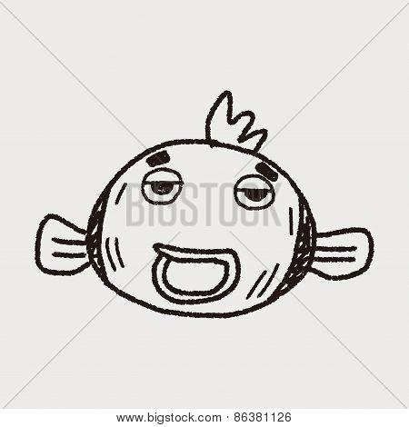 Doodle Goldfish