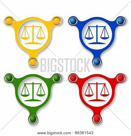 Colored Law Symbol