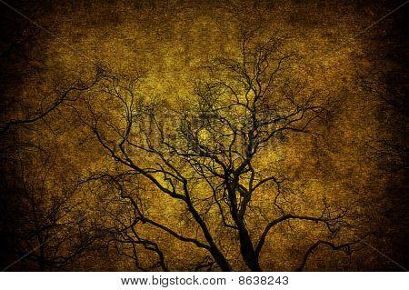 Árvore de grunge