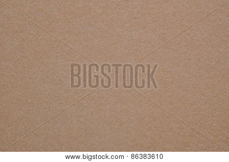 Coffee brown felt cloth