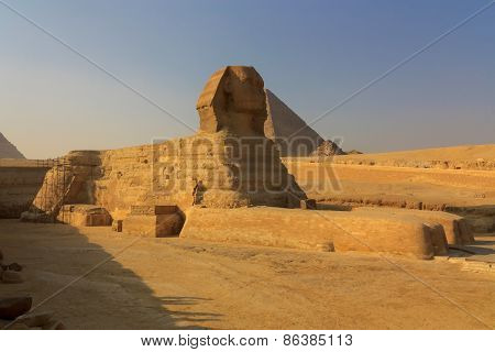 The Full Profile Of The Great Sphinx