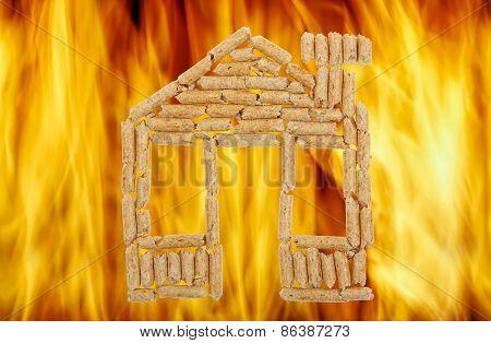 House Of Wood Pellets