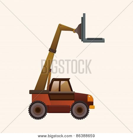 Transportation Moving Truck Theme Elements