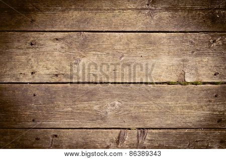 The Old Wood Texture With Natural Patterns