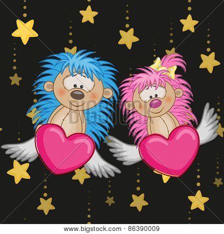 Lovers Hedgehogs