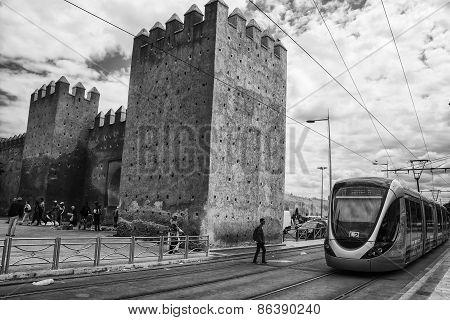 Tram In Rabat