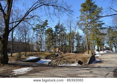Park In Lappeenranta.