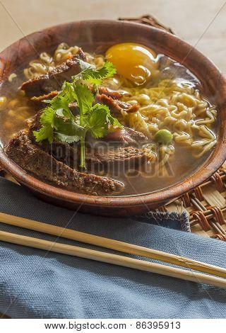 Asian Beef Ramen