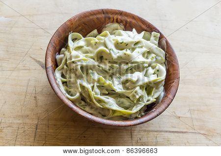 Spinach Fetuccine Alfredo