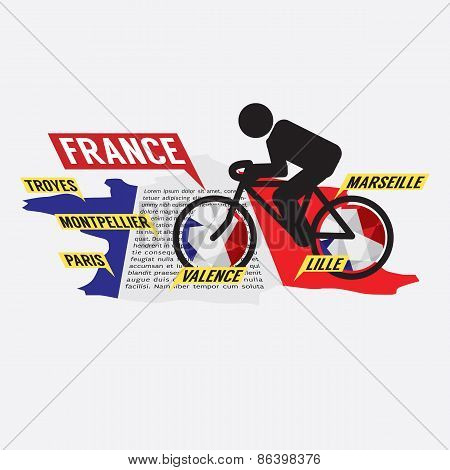 Cycling In France.