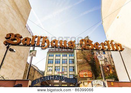 entrance view of  nostalgig Ballhaus Berlin