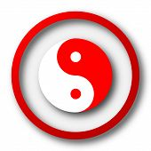 picture of yang  - Ying yang icon - JPG
