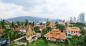 pic of malaysia  - Temple in Penang malaysia in sunny day - JPG