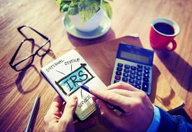 pic of irs  - Revenue Service IRS Finance Taxation Government Concept - JPG