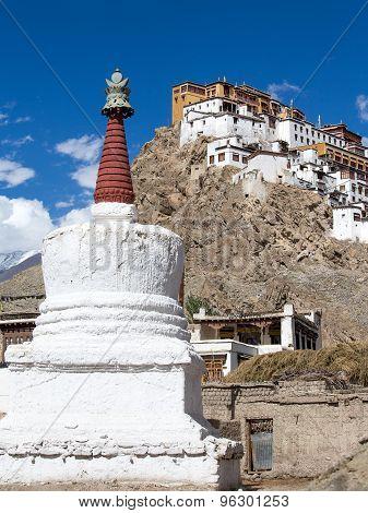 Tiksey Monastery Is A Buddhist Monastery In Ladakh, India ,