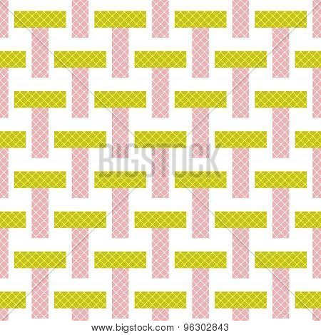 Seamless Bright Pattern Background Geometric Abstract