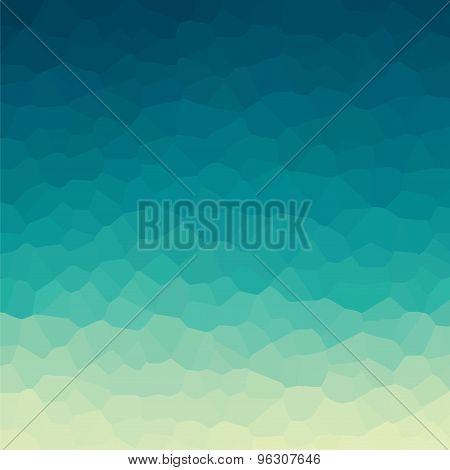 creative random crystal background design vector