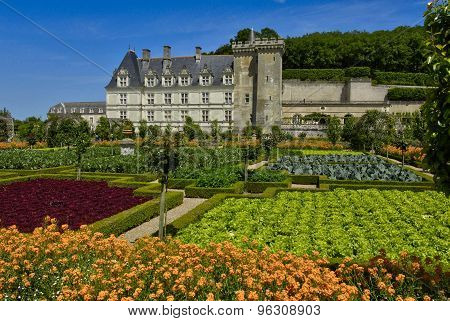Renaissance Castle Of Villandry