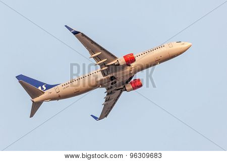 Boeing 737 Next Gen Of The Sas Airline