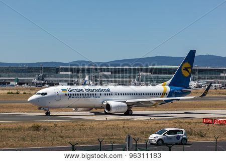 Boeing 737-800 Of The Ukraine Airline