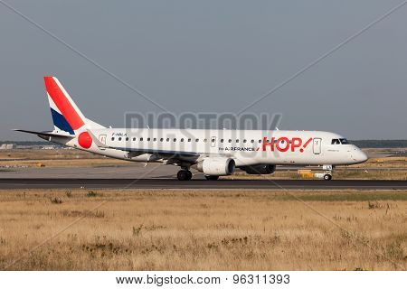 Embraer 190 From The French Hop Airline