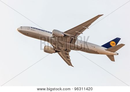 Boeing 777 Freighter Of The Lufthansa Cargo
