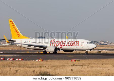 Pegasus Airline Boeing 737-800