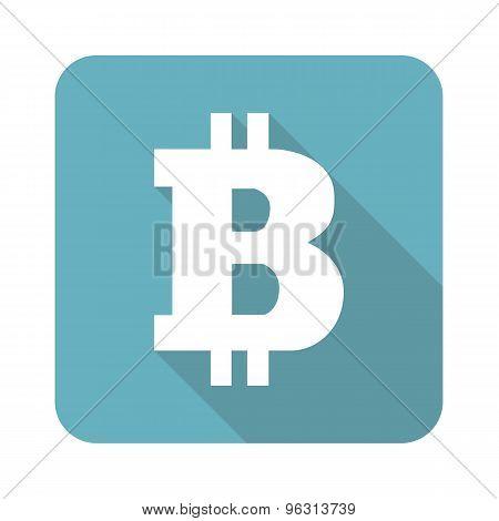 Square bitcoin icon