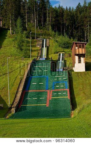 Sports complex.