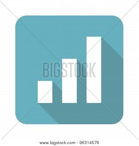 Square volume scale icon
