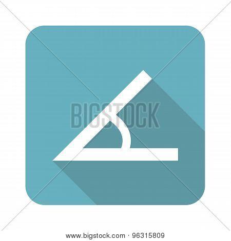 Square angle icon