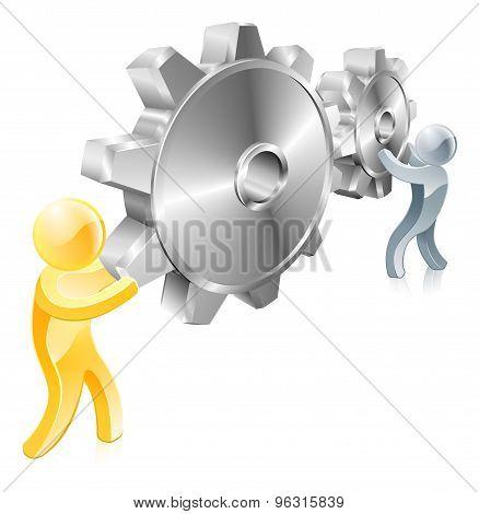 Gears Figures Concept