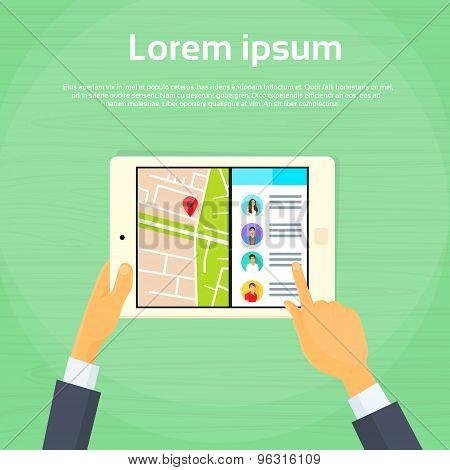 Tablet Computer New Multitasking Split Screen Options