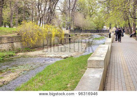 Kislovodsk. River Olhovka