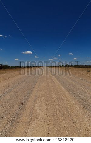 Namibia Road