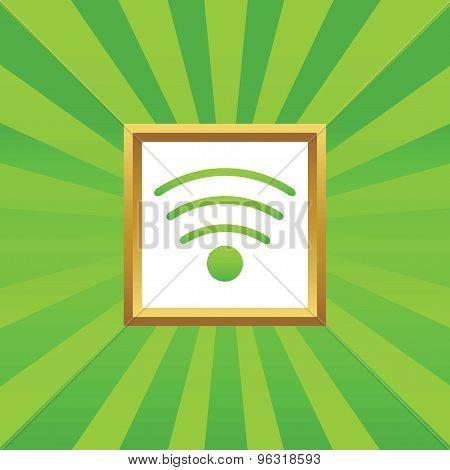 Wi-Fi picture icon