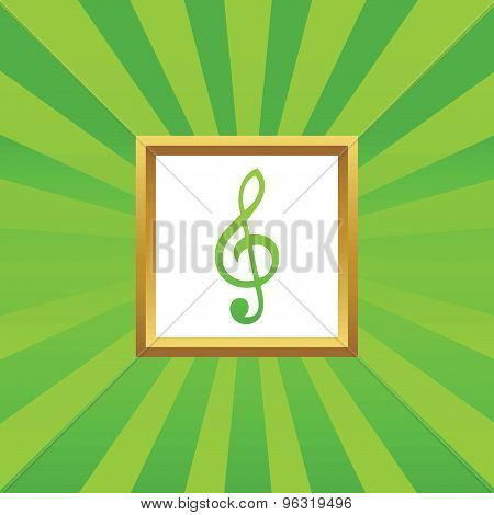 Music picture icon