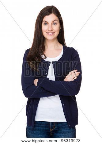 Caucasian woman