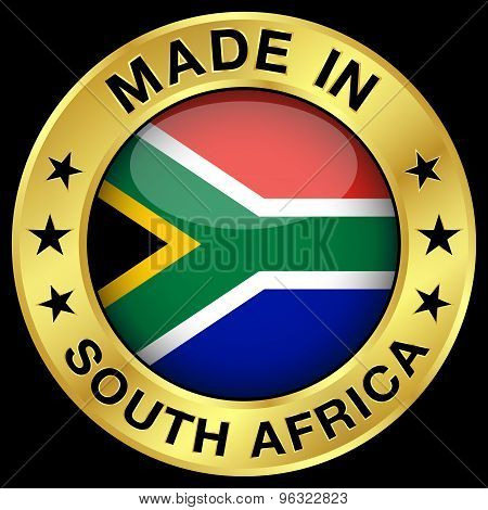 South Africa Made In Badge