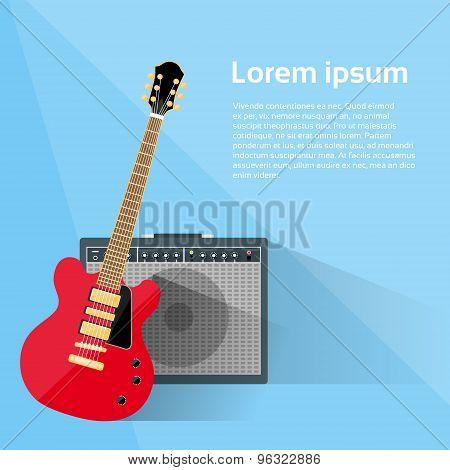 Electric Guitar Amplifier Combo Rock Music Equipment